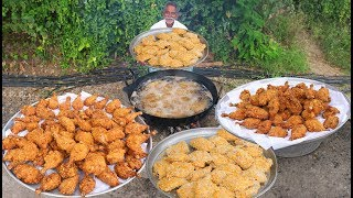 KFC Chicken Recipe   Crispy KFC Style Chicken Drumsticks   Home Made KFC Chicken By Grandpa