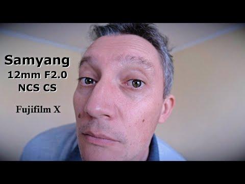Este bun obiectivul foto Samyang / Rokinon 12mm F2 NCS CS pentru video?