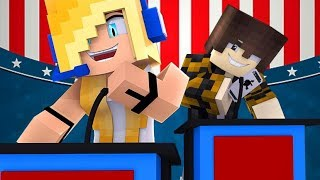 Minecraft Roleplay  /Psycho Girl Show #4 - Psycho Girl For Class President! * Minecraft Video