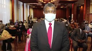 Cérémonie de remise de médailles à l'ambassade du Cameroun à paris