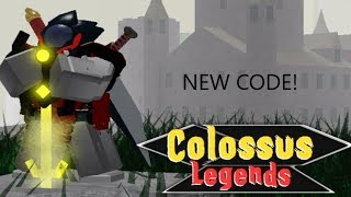 CODES!!! NOT WORKING   Roblox - Colossus Legends Help/tips ...