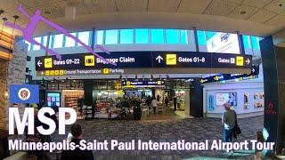 Airport Tour - MSP - Minneapolis-Saint Paul International Airport - Terminal 1