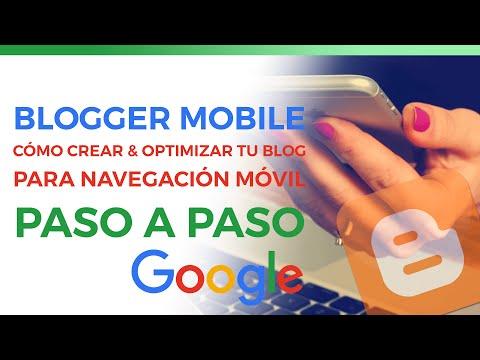 Blogger para móviles