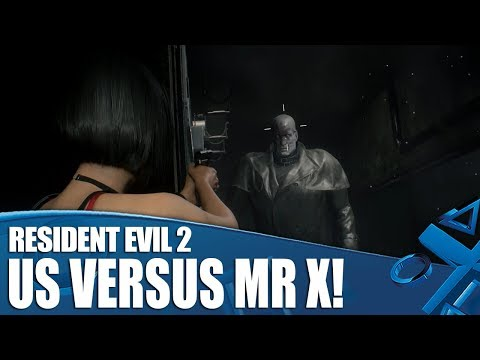 Resident Evil 2 - Us Versus Mr X!