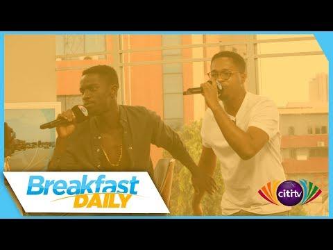 Kojo Cue & Shaker perform on Breakfast Daily