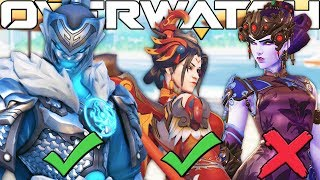 OVERWATCH *NEW* SKIN CONTEST CUSTOM GAMEMODE! l CHANGE SKINS IN GAME!?