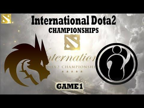 DOTA2  2021世界賽  IG vs TS 火熱開打