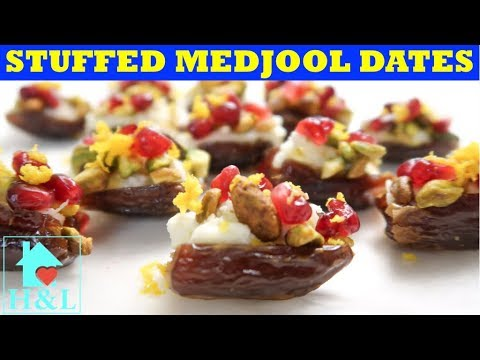 STUFFED MEDJOOL DATES (Easy Appetizer)    Health and Lifestyle
