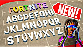 *UPDATED* HOW TO GET FREE FORTNITE BURBANK ALPHABET LETTER PROPS