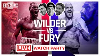 WILDER VS FURY LIVE COMMENTARY