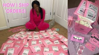 HOW I PACKAGE & SHIP MY ORDERS! BUSINESS 101
