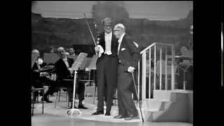 Stravinsky Conducts Pulcinella (ending)