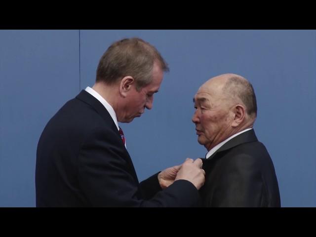 Медали к 80-летию Иркутской области