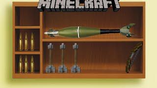 Из чего стрелять в Майнкрафте? / Обзор мода minecraft[1.9.4] Bullseye
