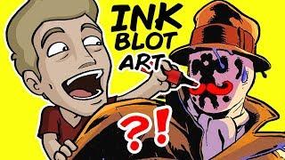 ART from INK BLOTS: The RORSCHACH TEST! (Am I Insane?)
