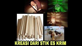 Kerajinan Tangan dari Stik Es Krim | DIY Crafts Kreatif Popsicle Stick
