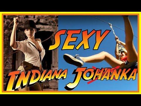 ► SEXY INDIANA JOHANKA◄ Adrenalinový zážitek!