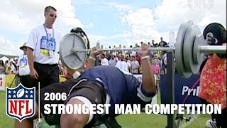 Strongest Man Competition (2006) | NFL Pro Bowl Skills Challenge