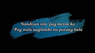 Pakinabang Ex Battalion Lyric Video