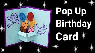 Easy Pop Up Birthday Card for Beginners | Pop Up Birthday Card |