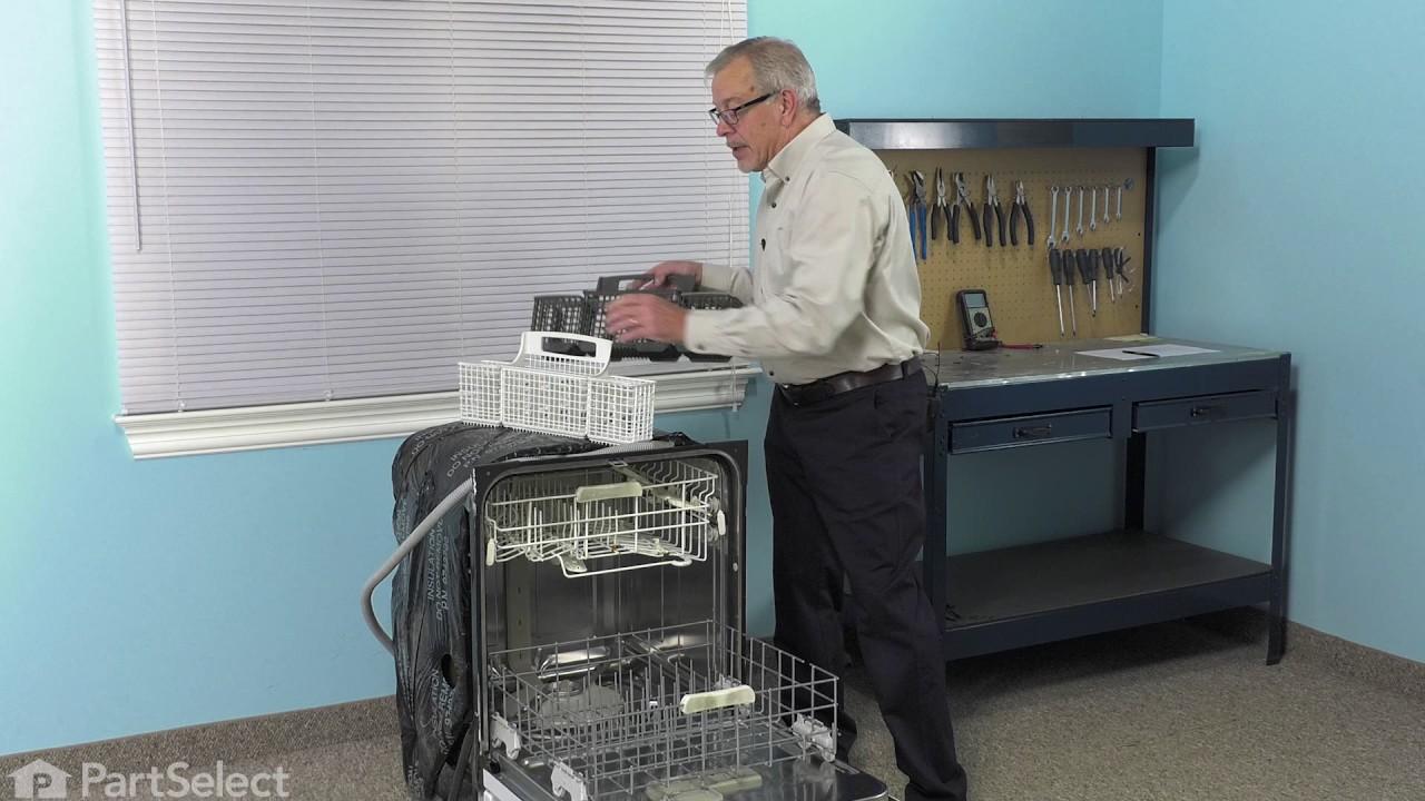 Replacing your Kenmore Dishwasher Silverware Basket