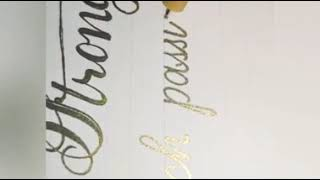 Amazing Calligraphy video   marriage wishes card   wedding card writing