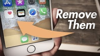 How to Hide Apps on iPhone 6 - Delete Stock Apps iOS 11 *Glitch*