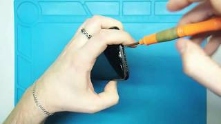 Замена стекла (экрана) на iPhone X своими руками, как поменять экран на айфоне х, видео инструкция