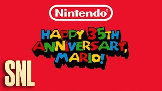 Super Mario 35th Anniversary - SNL