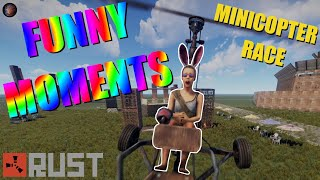 Minicopter FPV Racing - Funny Moments [Rust]