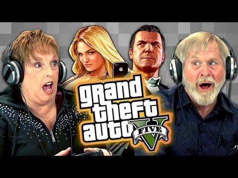 Důchodci hrají Grand Theft Auto V