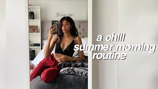 MY CHILL SUMMER MORNING ROUTINE ⛅️ | Sian Lilly