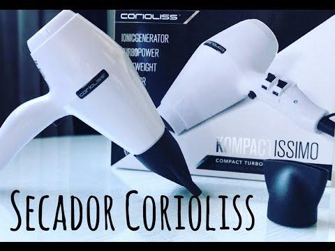SECADOR KOMPACTISSIMO WHITE CORIOLISS ♥ ♥ MAQUIABELLA.COM♥ ♥