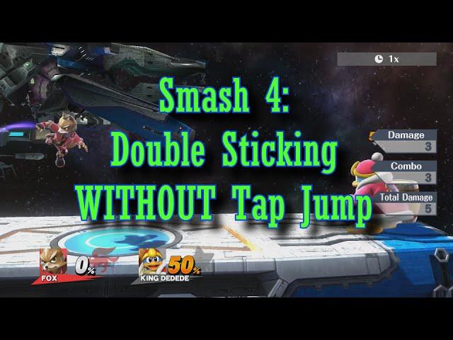 Smash-4-double-sticking-without