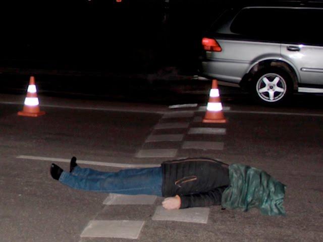 В Ангарске снова погиб пешеход