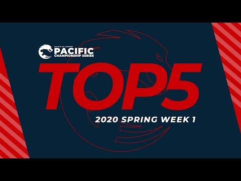pcs第一周top5