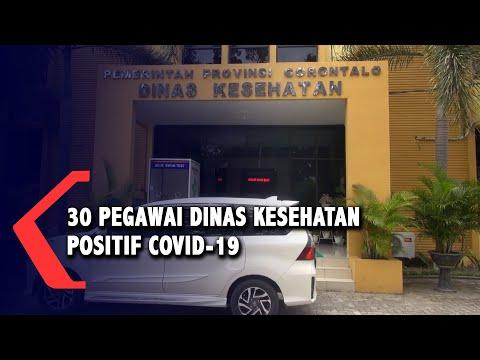 pegawai dinas kesehatan provinsi gorontalo positif covid- pelayanan ditutup sementara