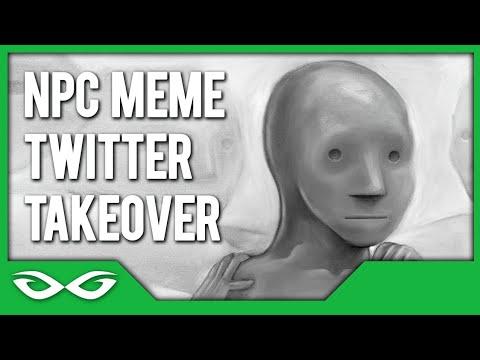 NPC Meme Takeover - The Best Twitter Thread Ever