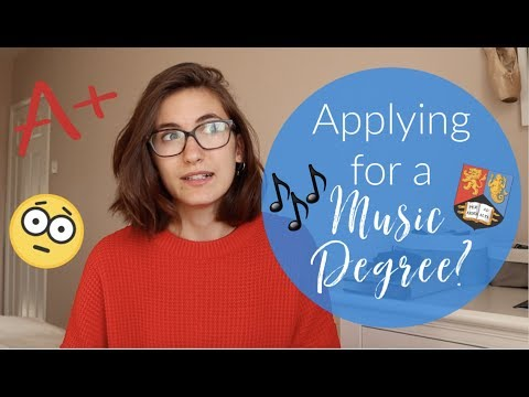 What qualifications do you need for a Music Degree?