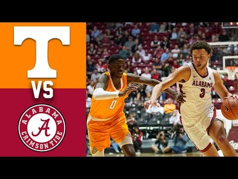 Tennessee vs Alabama Highlights 2020 College Basketball