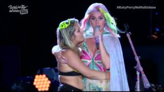 Gambar cover Katy Perry Slaps Fan's Butt On Stage At Rock In Rio 2015, Brazil