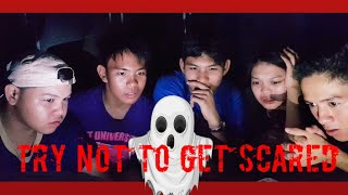 TRY NOT TO GET SCARED CHALLENGE | Mr.DennyBoy