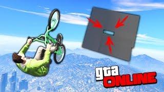 ЭТО НЕВОЗМОЖНО! КАК ПРОЛЕТЕТЬ НА BMX СКВОЗЬ УЗКУЮ ДЫРУ В GTA 5 ONLINE