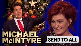 Ozzy Osbourne Facetimes Sharon Osbourne Over Plastic Surgery Text | Send To All | Michael McIntyre