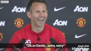 Funny Press Conference With Ryhan Giggs , Mourinho, Kloop, Ranieri, Zinedine,