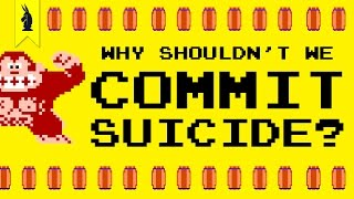 Why Shouldn't We Commit Suicide? (Donkey Kong & The Myth of Sisyphus) – 8-Bit Philosophy