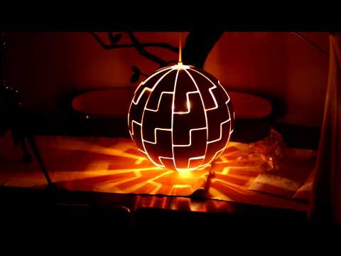 , title : 'IKEA death star lamp, light (timelaps)'