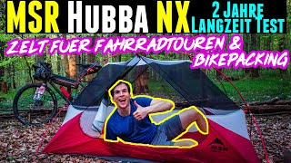 MSR Hubba NX Test - Bikepacking Zelt & Zelt für Radreisen