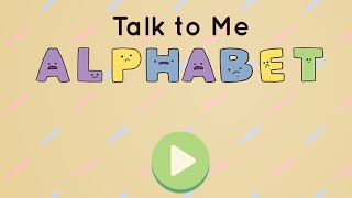 Talk To Me Alphabet Game Play | Crazy Game Zone