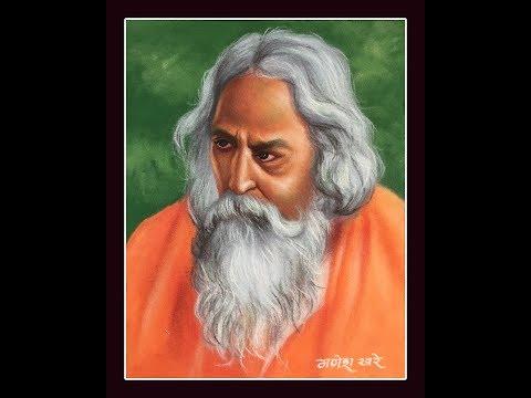 portrait rangoli design saint by ganesh khare